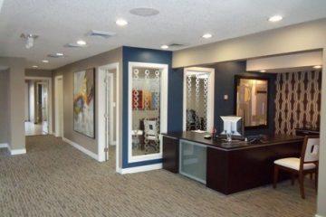 Seven65 Lofts Leasing Office Lobby