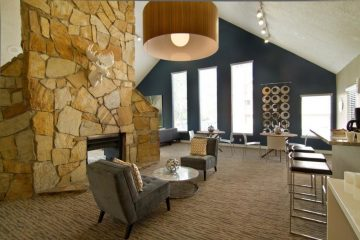Seven65 Lofts Community Lounge