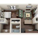 Apartment Studio Floor Plan