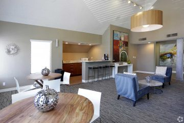 Seven65 Lofts Unit Living Area