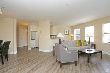 The Podium Apartments Floor Plan A Living Room