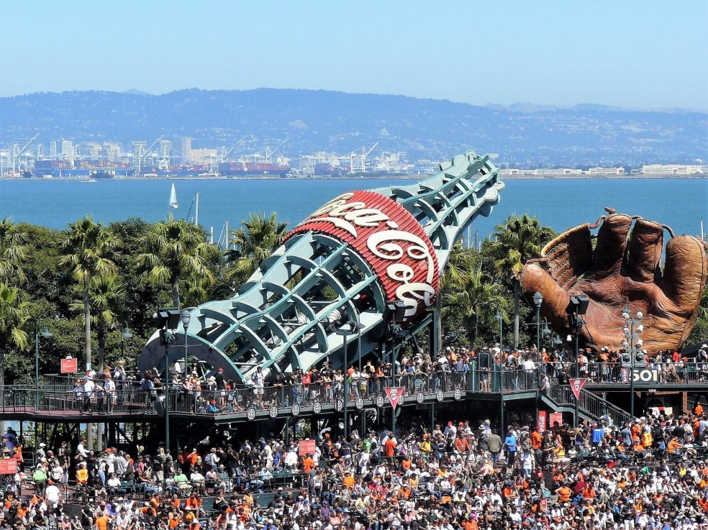 San Francisco City Guide–A List of Favorite Things to Do   Oracle Park Coca Cola   DeAnza Properties