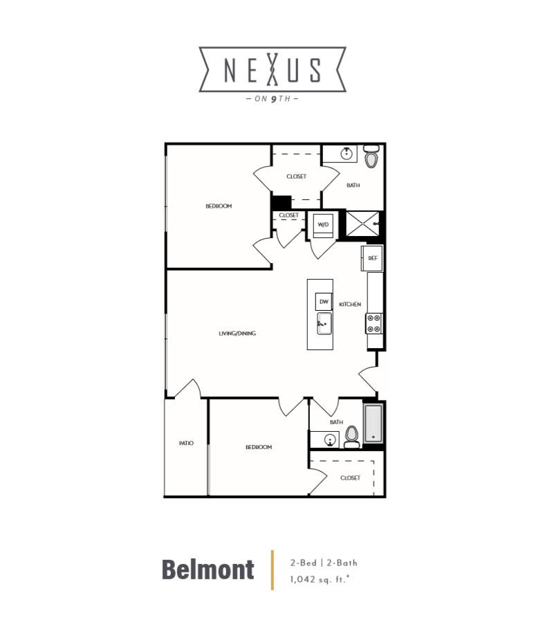 Nexus on 9th | Apartments for Rent | De Anza Properties on