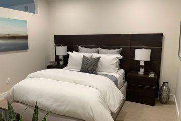 view of bedroom of nexus on 9th apartment interior