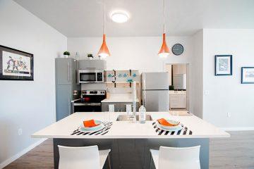 C9 Flats Apartment Unit Kitchen