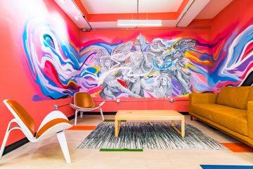 C9 Flats Community Lounge Room