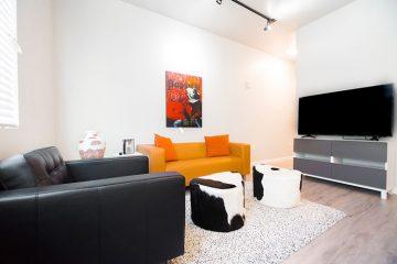 Apartment Unit Living Room
