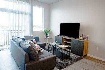 C9 Flats Apartment Unit Living Room