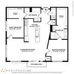 Apartment Elevation Floor plan