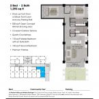 Apartment 101 Floor plan