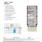 Apartment 103 Floor plan
