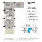 Apartment 104 Floor plan