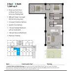 Apartment 105 Floor plan