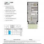 Apartment 106 Floor plan