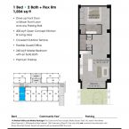 Apartment 107 Floor plan