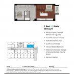 Apartment 109 Floor plan