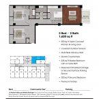 Apartment 110 Floor plan