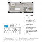 Apartment 111 Floor plan