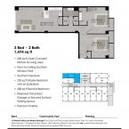 Apartment 112 Floor plan