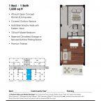 Apartment 203 Floor plan
