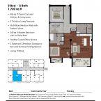 Apartment 205 Floor plan