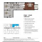 Apartment 208 Floor plan