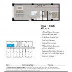 Apartment 209 Floor plan