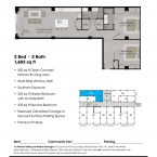 Apartment 210 Floor plan