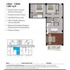 Apartment 304 Floor plan