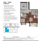 Apartment 305 Floor plan