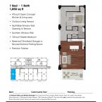 Apartment 306 Floor plan