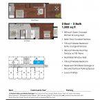 Apartment 307 Floor plan