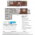 Apartment 308 Floor plan