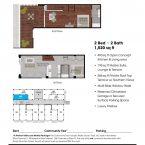 Apartment 309 Floor plan