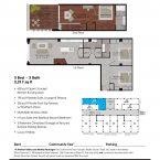 Apartment 310 Floor plan