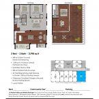 Apartment 401 Floor plan
