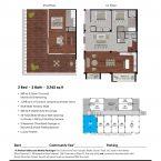 Apartment 406 Floor plan