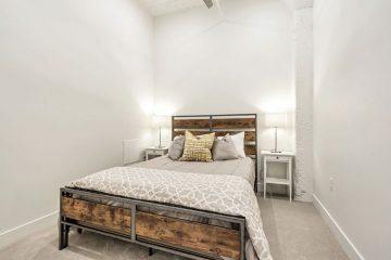 Paragon Station Apartment Unit Bedroom