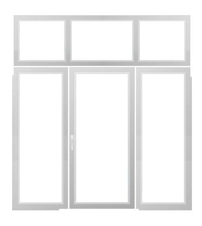 Sliding Window Wall Icon